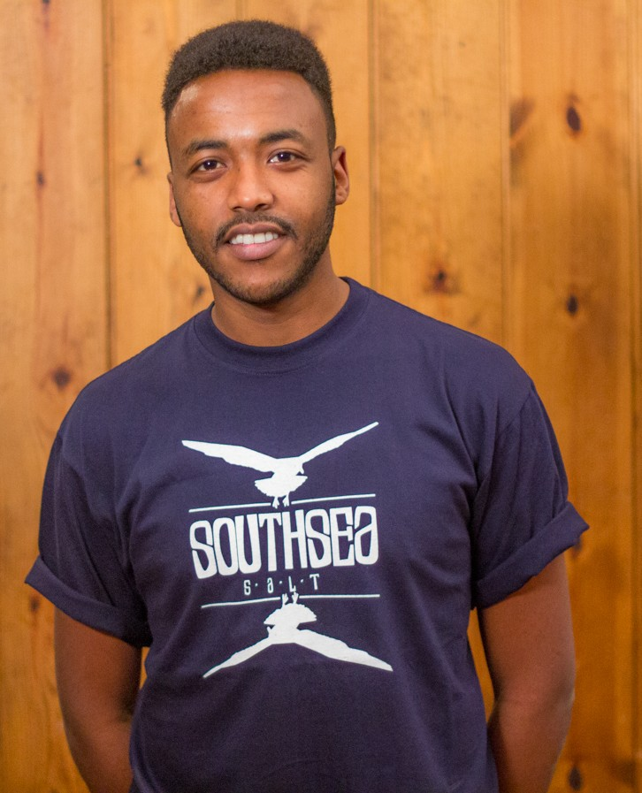 Southsea Salt Blue T-shirt Mens