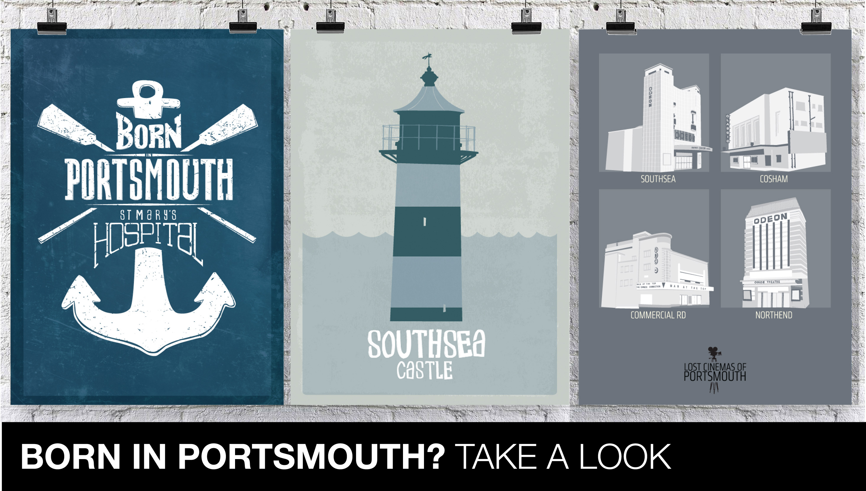 Born in Portsmouth